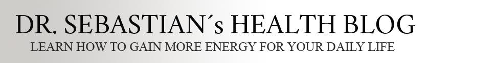 DR. SEBASTIAN´s HEALTH BLOG Logo